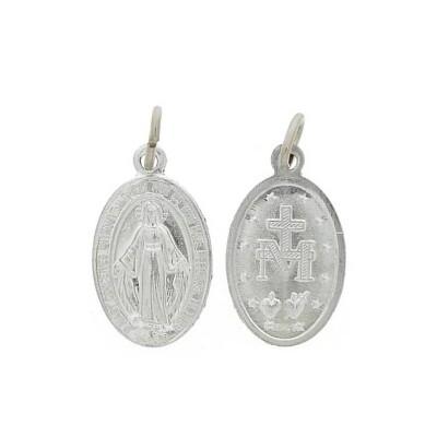 Zakje van 100 x Medailles wonderbare 18 mm aluminium