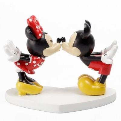 Beeldje Disney Minnie en Mickey Mouse