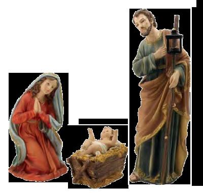 Heilige Familie 60 cm van kerstset K272