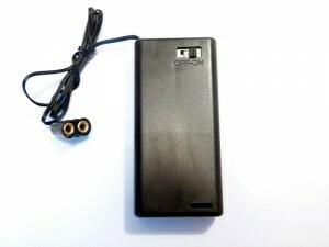 Batterijhouder met schakelaar