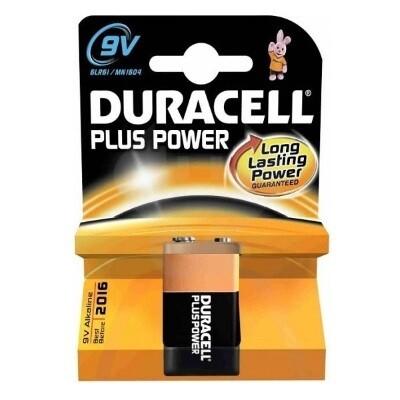 Duracell Batterijen  -6LR61 -9V
