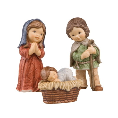Maria,Jozef en Jezus Nina & Marco 12 cm