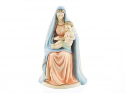 Hum 151 – Sitzende Madonna mit Kind