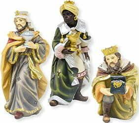 3 Koningen voor 11 cm figuren