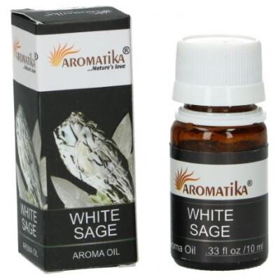 Geurolie 10 ml -WITTE SALIE-