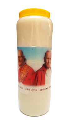 Noveenkaars Paus Johannes XXIII en Paus Johannes Paulus II