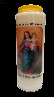 Noveenkaars ONZE LIEVE VROUW HULP DER CHRISTENEN