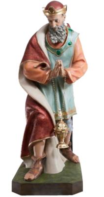 Koning groen staand KER-ELM280-160-5
