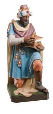 Koning blauw geknield KER-ELM280-160-6