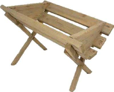 Kribbe in hout KER-DEKZ079-40