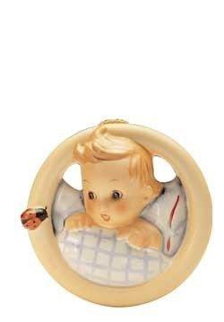 Hum 137-Wandbild Kind im Bett