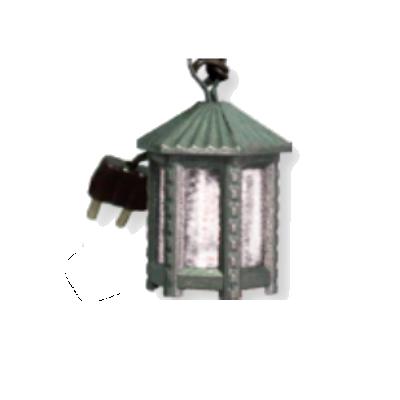 Lantaarntje 3 cm - 1.5V   wit of rood glas