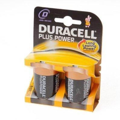 """Duracell Batterijen  -Pack van 2-  LR20 of """" D """"-size"""