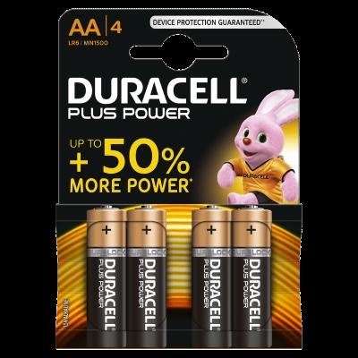 "Duracell Batterijen  -Pack van 4-  LR6 of "" AA ""-size"