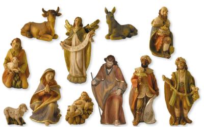 Set van 11 figuren   15 cm