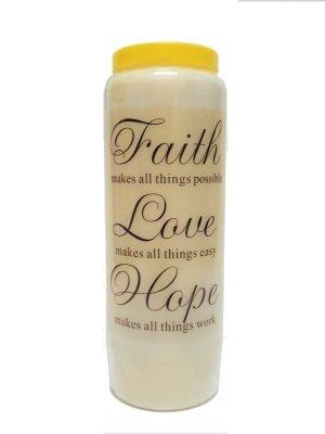 Noveenkaars FAITH, HOPE & LOVE
