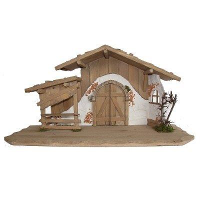 Kerststal RAIN  80x30x40 cm   voor 15-20 cm figuren
