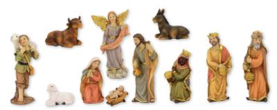 Set van 11 Figuren    6 cm