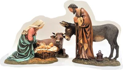 Kerstgroep 20 cm M. Landi