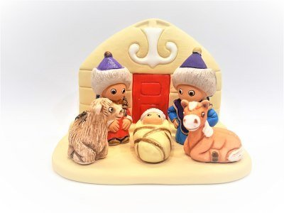 Kerstset MONGOLIE