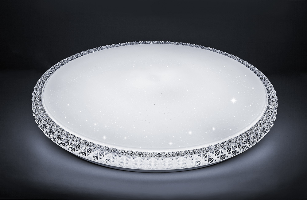 Светильник светодиодный управляемый AL5300, 100W, 3000К-6500K (теплый белый-дневной), 230V, 8500Lm,