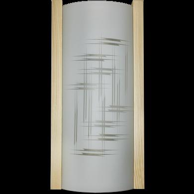 """Светильник """"Дюна"""" Элегант 360x150 белый/песк/сосна 2х60W E27 НББ 20-2*60 М31"""