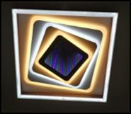 Люстра светодиодная JL LED MK437 189W, пульт