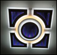Люстра светодиодная JL LED MK432 217W, пульт
