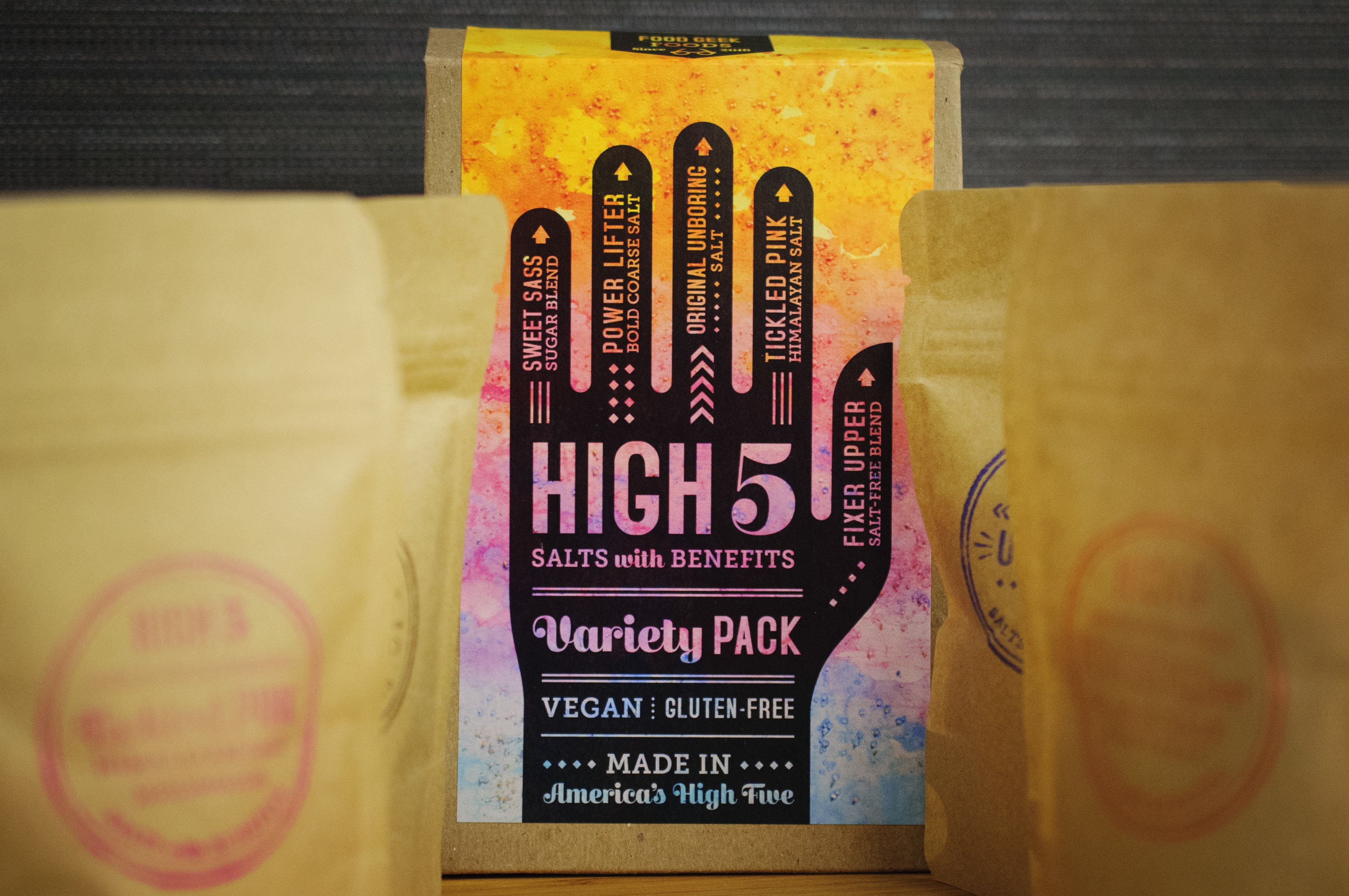 Variety Pack | High 5 Salts with Benefits var5