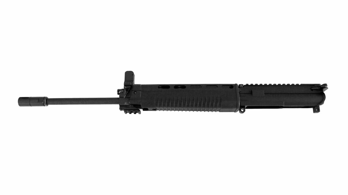 T91 Complete Upper 14.5-inch Original 15mm MIL-SPEC Profile Chrome Lined Barrel With Polymer Handguard