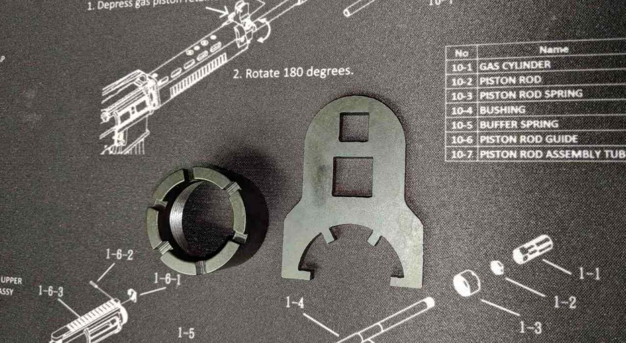 T91 Barrel Nut Wrench