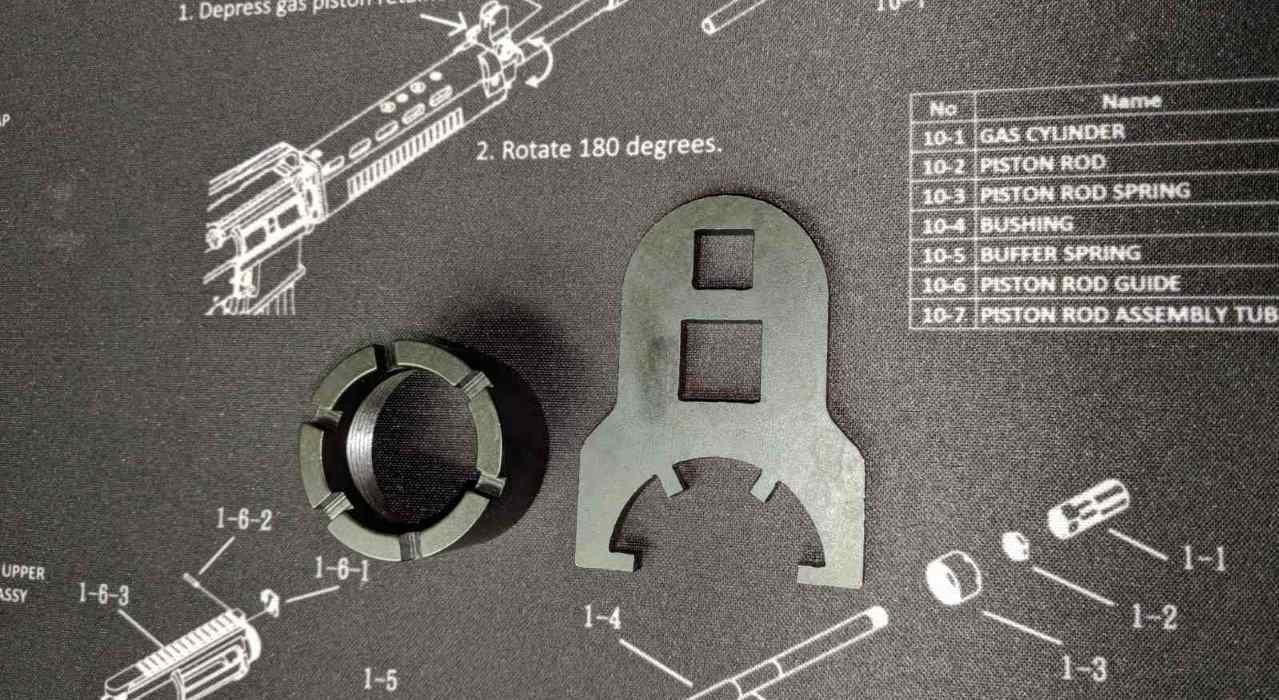T91 Barrel Nut Wrench