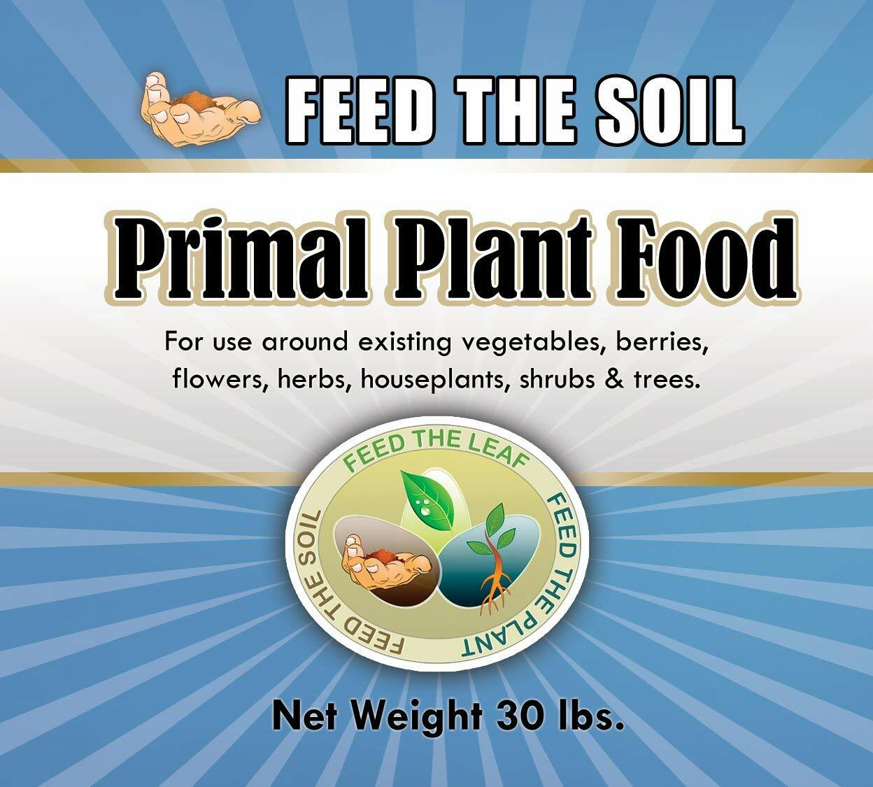 Primal Plant Food - Bulk Without the Fancy Jar, 30 lbs. 00002