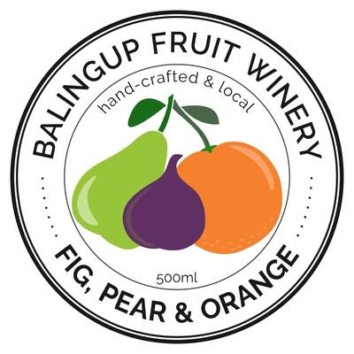 Fig, Pear & Orange