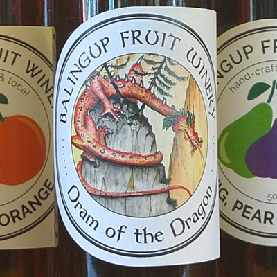 Dram of the Dragon  (Fig, Pear & Orange) - Free Shipping!