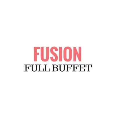 Fusion Full Set Up Buffet (MIN 20 Pax) Fusion Full Set Up Buffet