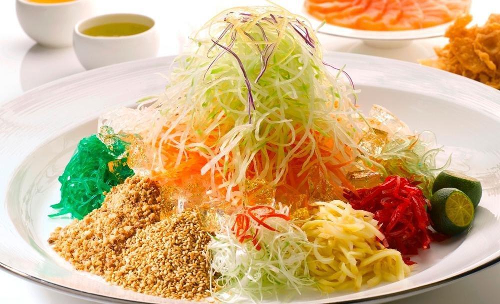 Abalone Yu Seng (鲍鱼鱼生) Abalone Yu Seng
