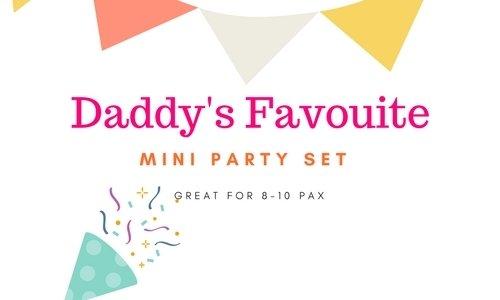 Mini Party Set Daddy's Favorite Mini Party Set Daddy's Favorite