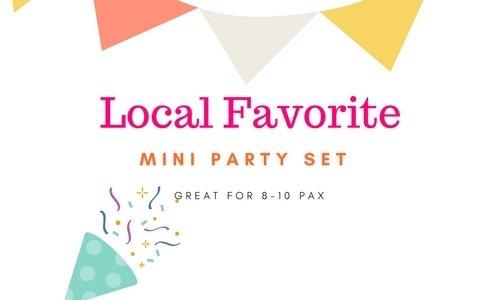 Mini Party Set Local Favorite Mini Party Local Favorite