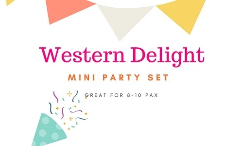 Mini Party Set Western Delight Mini Party Set Western Delight