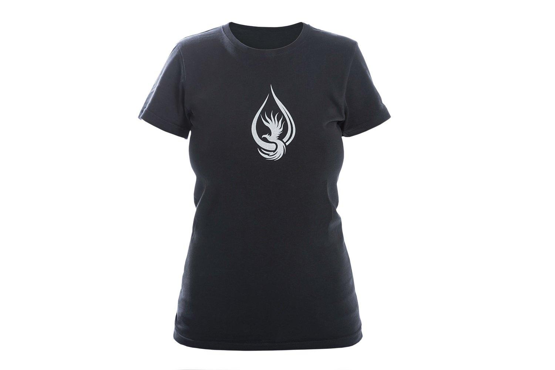 T-shirt WOMAN Black/Silver