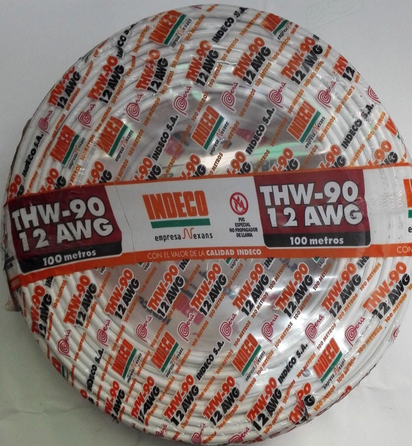 Cable THW90 12AWG