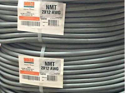 Cable Vulcanizado 2x12AWG indeco