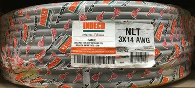 Cable Vulcanizado 3x14AWG