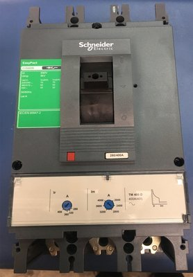INTERRUPTOR TRIFASICO REGULABLE 400A CVS400N