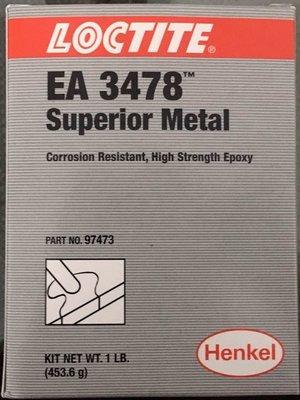 LOCTITE SUPERIOR METAL EA3478