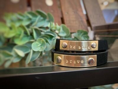 Leather Bracelets - Handmade in Iowa!
