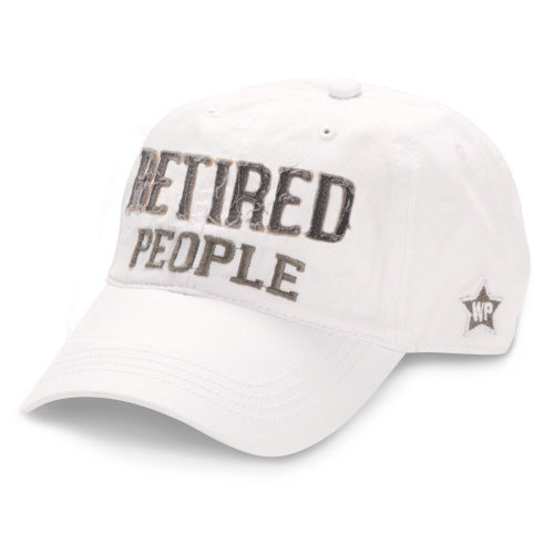Retired People Hat