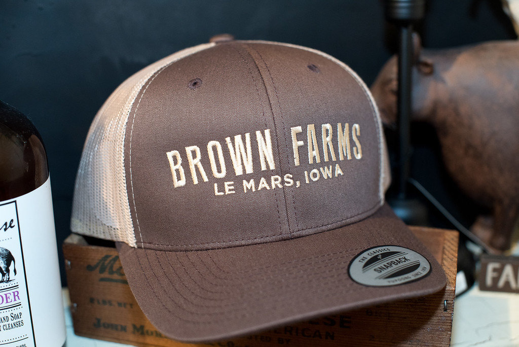 Brown Farms - Hat (Trucker Style) 00017