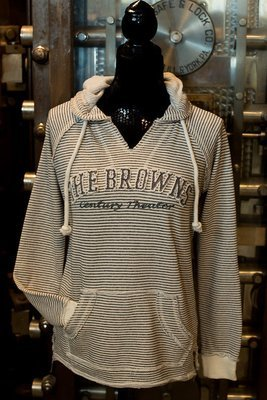 Browns Century Theater - Stripped Sweatshirt